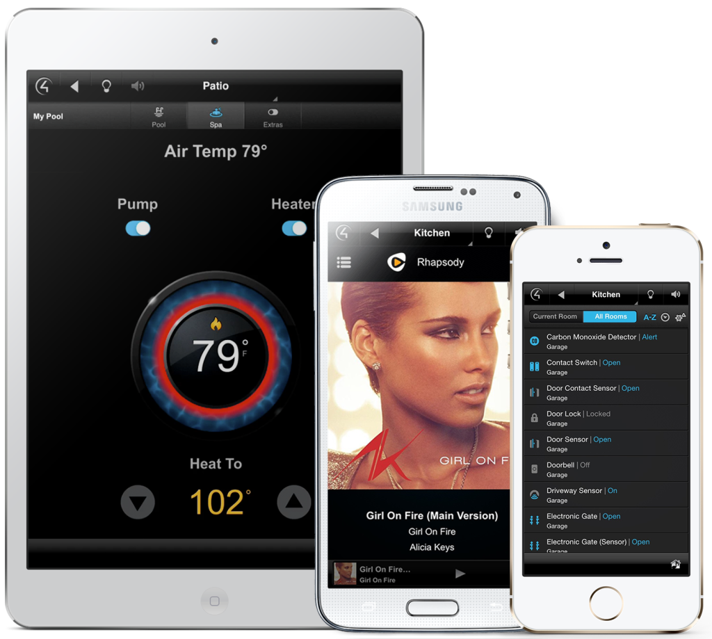 oS devices smart home control